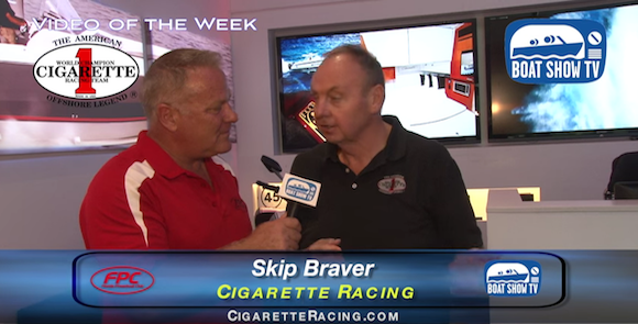 Cigarette Racing at Ft. Lauderdale Boat Show on Boat Show TV 2015