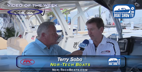 Nor-Tech Hi Performance Boats at Ft. Lauderdale Boat Show on Boat Show TV 2015
