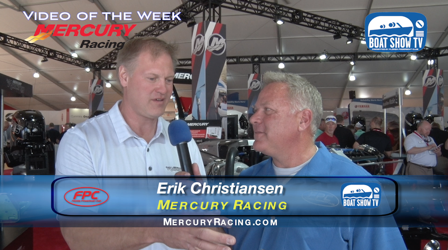 Mercury Marine Erik Christiansen At Miami Boat Show 2016