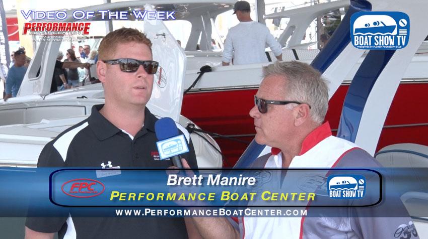 Brett Manire On GTS 39 Miami Boat Show 2017 On Boat Show TV