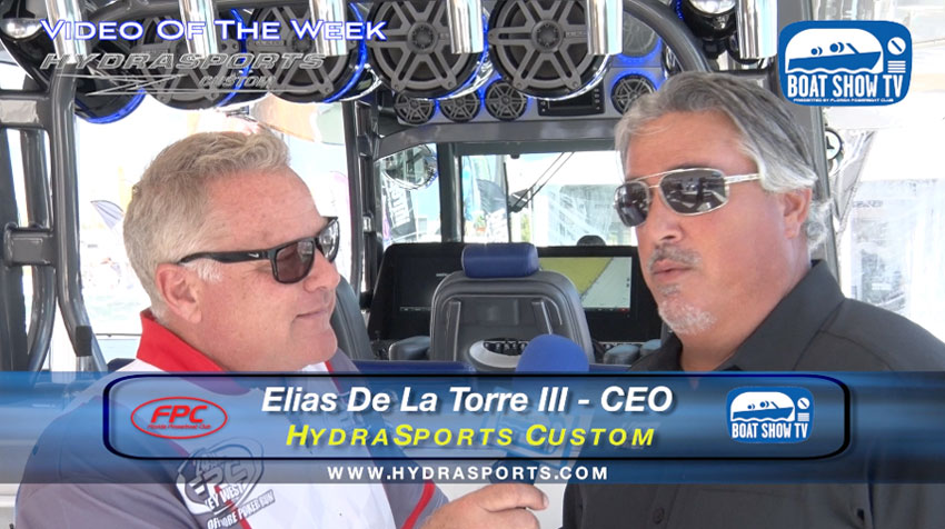EG Vodka 53 Suenos Hydrasport Miami Boat Show 2017 On Boat Show TV